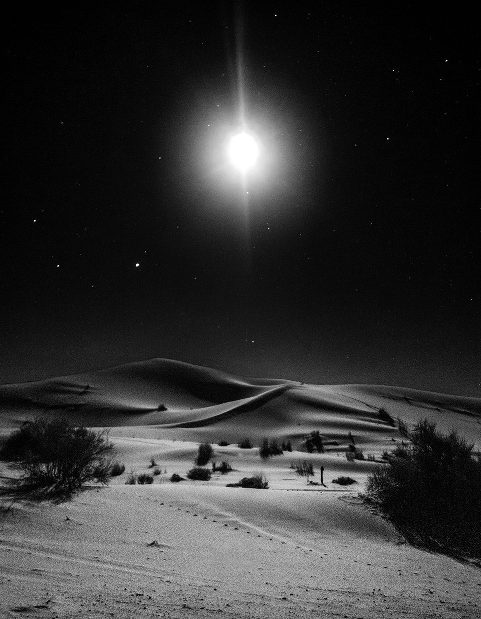 Night - Morocco Desert