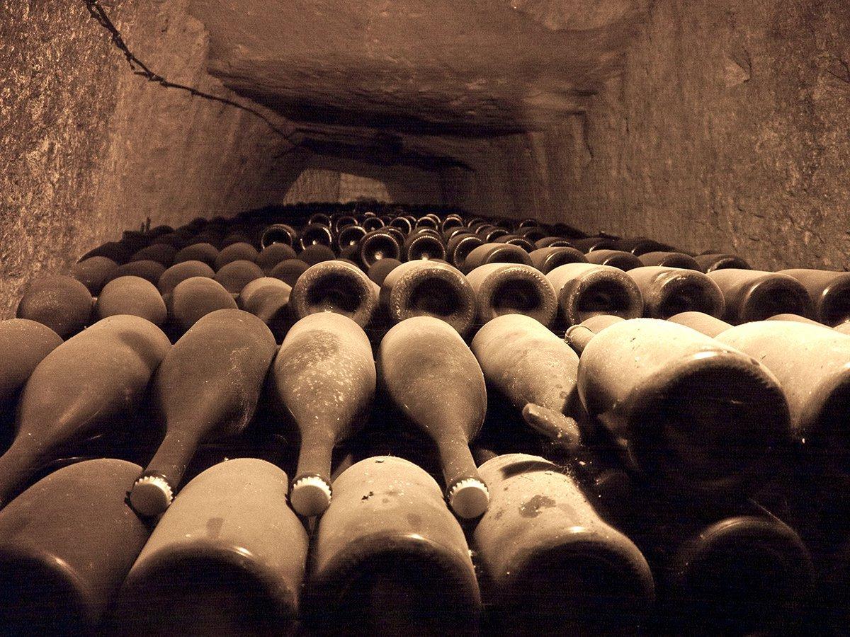 Vintage Champagne Bottles