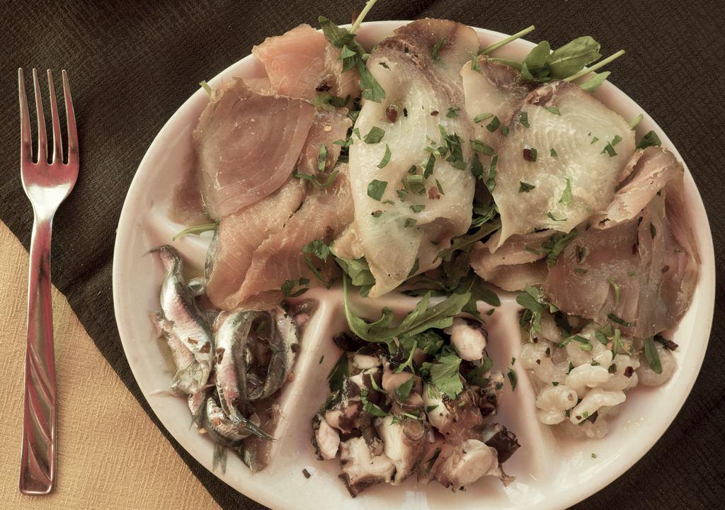 Seafood Dish - Catania, Sicily