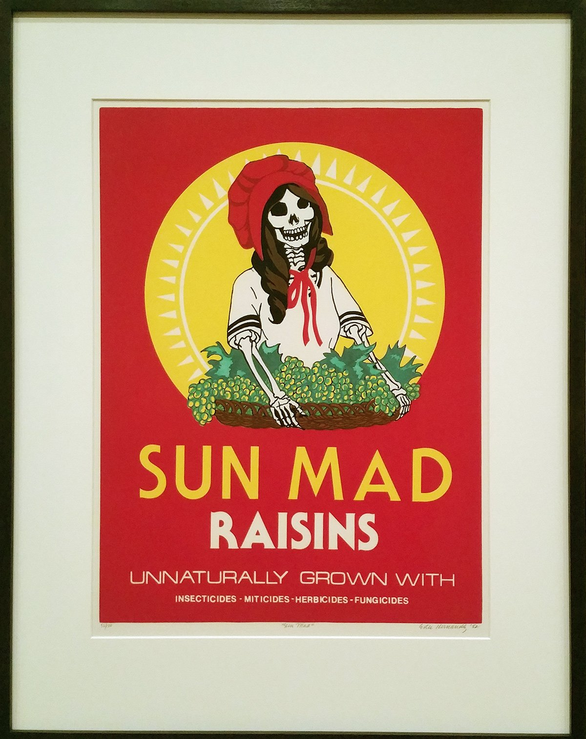 Ester Hernandez Sun Mad.