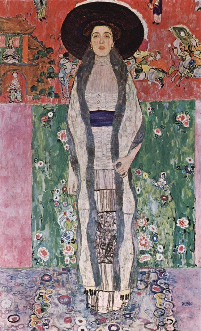 Adele Bloch-Baur 2 by Gustav Klimt