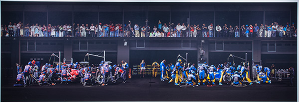 Andreas-Gursky F1 Pit Stop III
