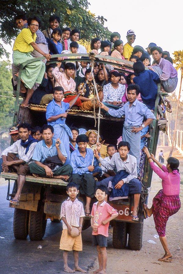 Public Transportation - Burma