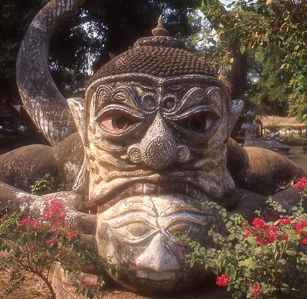 Demon Buddha Park, Laos