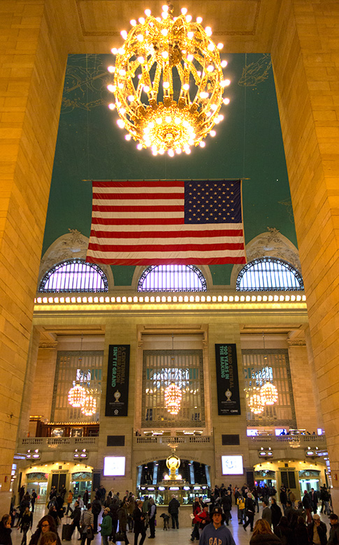 Flag Grand Central Terminal