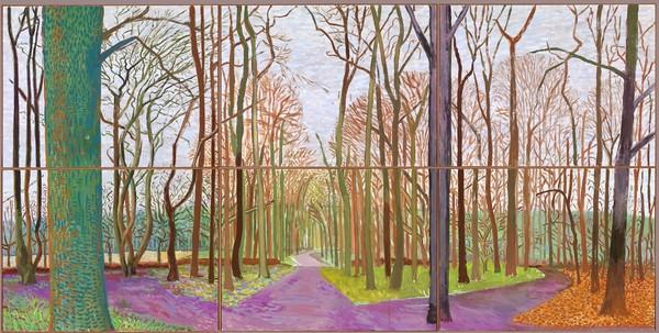 David Hockney Woldgate Woods, 30 March - 21 April