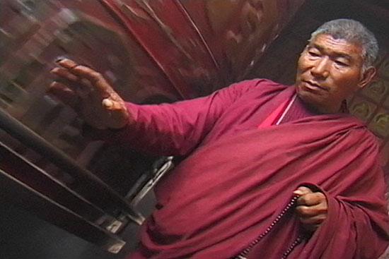 Monk, Kathmandu