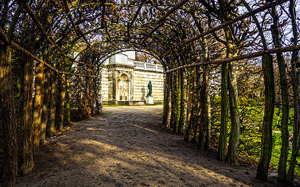 Sansoucci Palace Wine Arbor