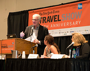 Tech Sessions at NY Times Travel Show