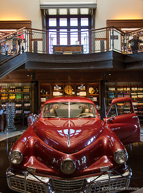Tucker Auto at Francis For Coppola Winery