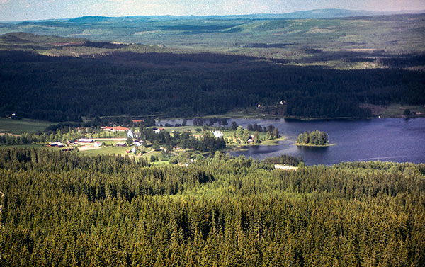 Vitsand in Sweden's Lakes District