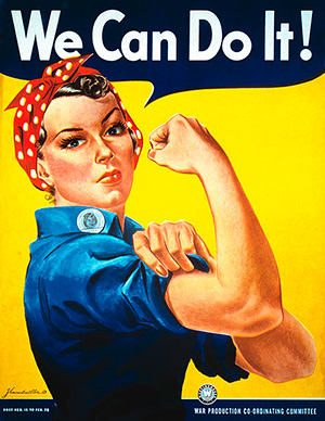 Rosie the Riviter Poster