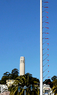 Windvanes and Coit Tower - Exploratorium