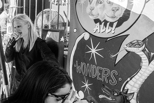 Freakshow Barker, Venice, California