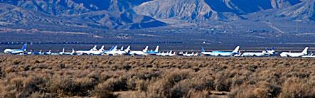 Jet Graveyard, Mojave, CA