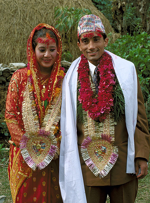 Wedding Couple, Nepal