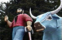 Paul Bunyan, Trees of Mystery