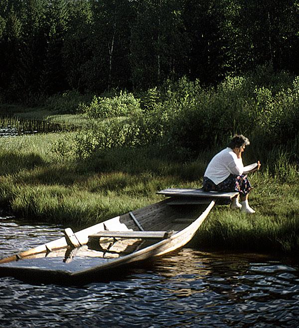 Lake, Central Sweden