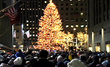 Christmas Tree, Rockefeller Plaza