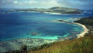 Bay in Fiji