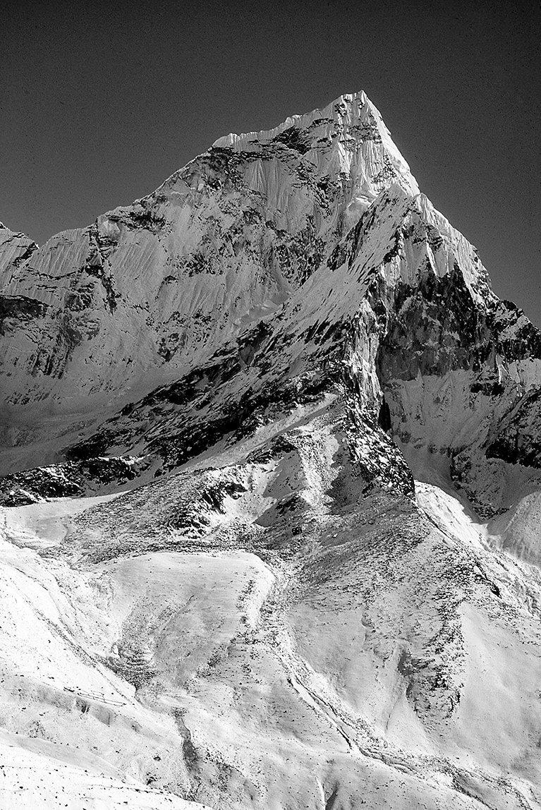 Nuptze Peak near Mt. Everest