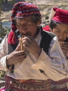 Flute Players - Taquile Island