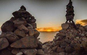 Sunset - Suasi Island, Peru