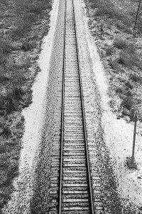 Railroad Tracks -Minneapolis, Minnesota