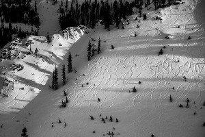 Ski Trails, South Lake Tahoe, California