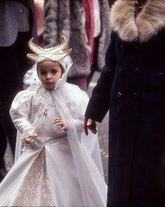 Little Girl at Carnival of Venice (