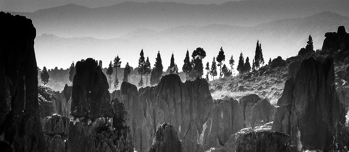 Stone Forest Fantasy: Yunnan Province, China