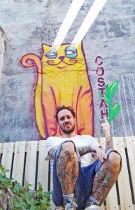 Nuno Costah, Grafitti Artist, Porto, Portugal