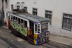 Trolley - Urban Art, Lisbon