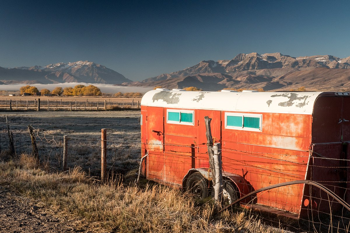 Horse Trailer, Wasatch National Forest, Utah
