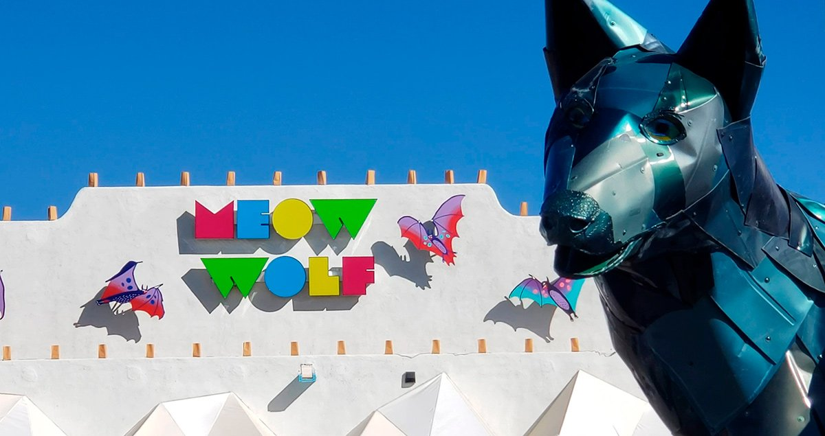 Meow Wolf, a a strange, whimsical conceptual art installation in Santa Fe, New Mexico
