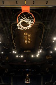 Chase Center Basketball Court