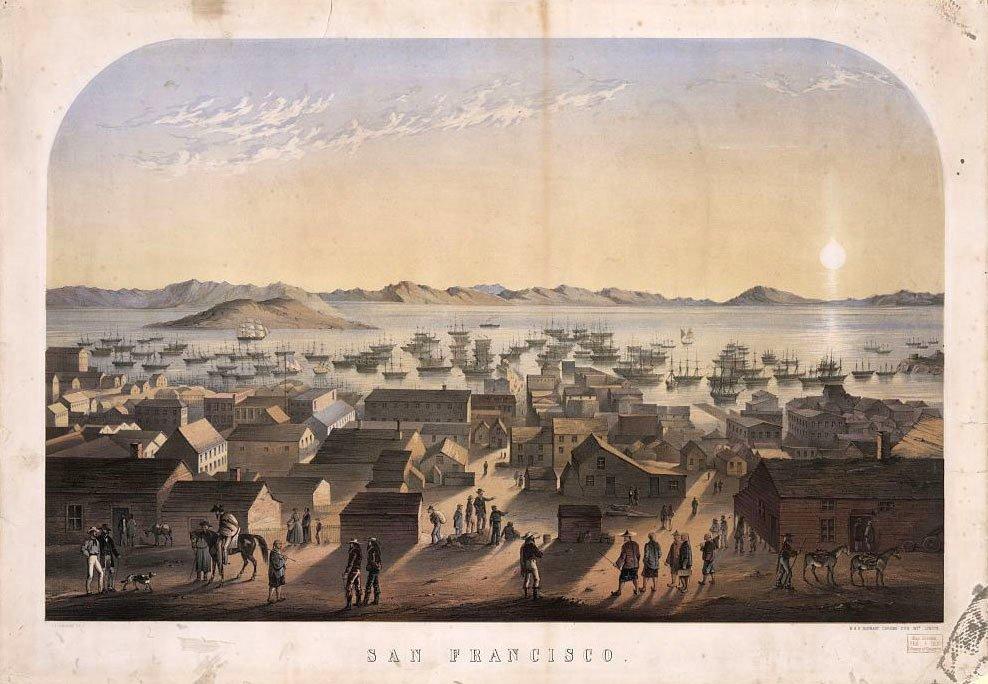 San Francisco Gold Rush Waterfront