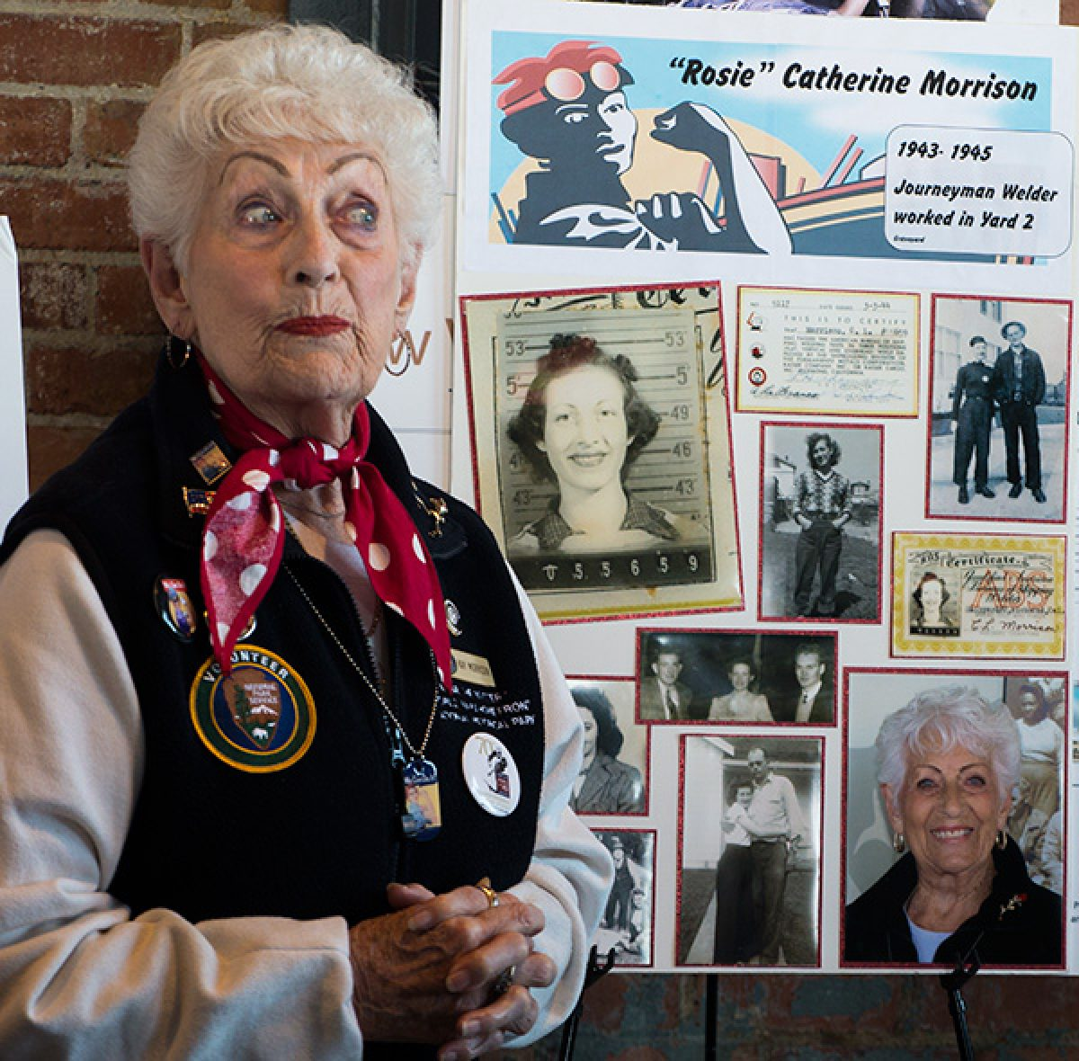 People We've Met: Rosie The Riveter