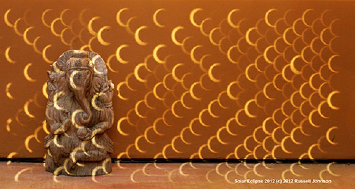 Solar Eclipse 2012: Ganesha