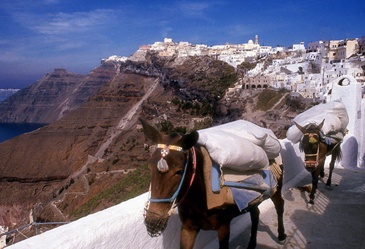 The Big Boom Theory: Santorini, Greece