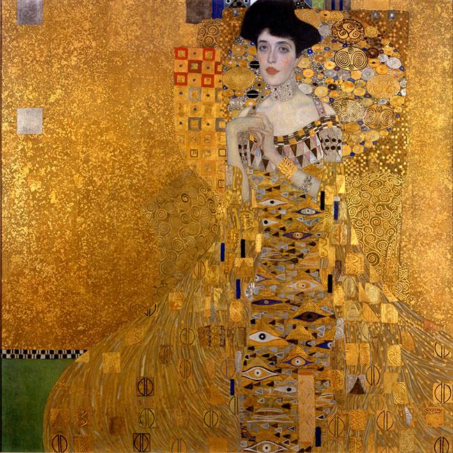 Woman-in-Gold, Klimt