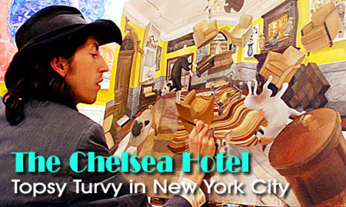 Topsy Turvy in New York: The Chelsea Hotel Changes Hands (Video)