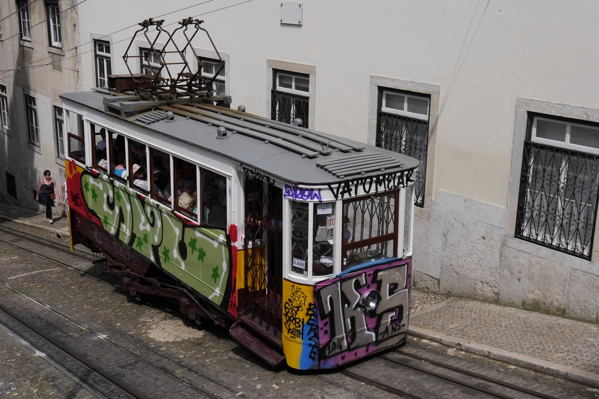 Trolley Urban Art, Lisbon
