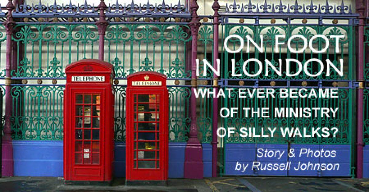 On Foot in London